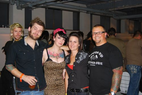 New Tribe at London Tattoo Convention 2007